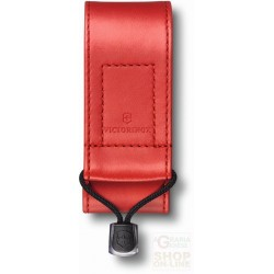 VICTORINOX LEATHER SHEATH SYNTHETIC RED 4.0480.1
