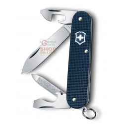 VICTORINOX MULTIUSO CADET MM. 84 GUANCE ALOX STEEL BLUE LIMITED