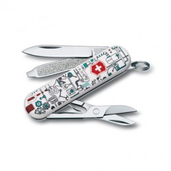 VICTORINOX MULTIUSO CLASSIC IRON FACTORY MM. 58