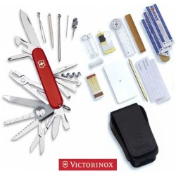 VICTORINOX, THE MULTIPURPOSE SWISS CHAMP SOS SET SURVIVAL 1.8810
