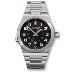 VICTORINOX WATCH CONVOY QUADR BLACK BRAC