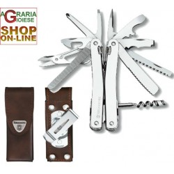 VICTORINOX SWISSTOOL SPIRIT PLIERS WITH LEATHER SHEATH
