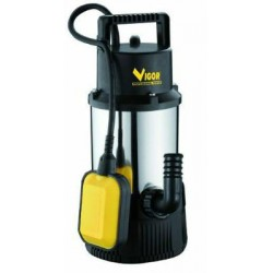 VIGOR SUBMERSIBLE PUMP STAINLESS STEEL 1100 AUTOMATIC 1-1/4 IN.