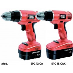 BLACK DECKER DRILL BATTERY 18V MOD.EPC18CAK