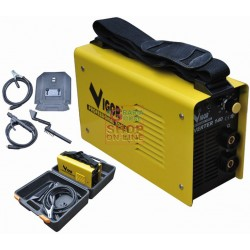 VIGOR WELDING MACHINES INVERTER MOD. 140 KIT WITH SUITCASE