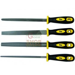 VIGOR SERIES, 4 FILES COM PVC HANDLE 8""