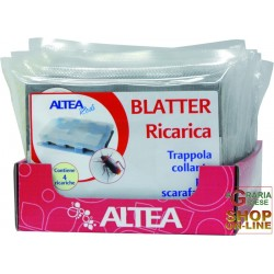 BLATTER CHARGING 4 ADHESIVE TRAPS FOR CRAWLING INSECTS
