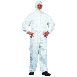 VIGOR JUMPSUIT-DISPOSABLE PROTECTION LITE NO-DPI SIZE L