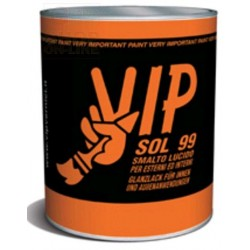 VIP SOL 99 HIGH GLOSS ENAMEL FOR WOOD AND IRON, 89 SEQUOIA BASE