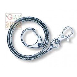 WENGER CHAIN KEY RING WITH CARABINER ART. 6.72.00