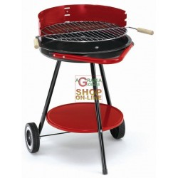 BLINKY CHARCOAL GRILL RONDY-48 WITH WHEELS DIAMETER CM. 48