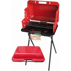 BLINKY CHARCOAL FOR THE BARBECUE SPEEDY BRIEFCASE CM. 47X26