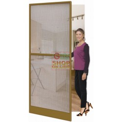 MOSQUITO NET FOR DOOR TO DOOR IN BRONZE, CM. 100X240