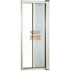 MOSQUITO NET IN ALUMINUM THIN HORIZONTAL WHITE CM.140X250