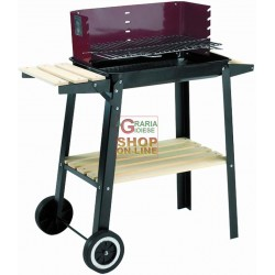 BLINKY BARBECUEE WOOD-WOODY-48 WITH WHEELS CM. 48X29 78790-40/7