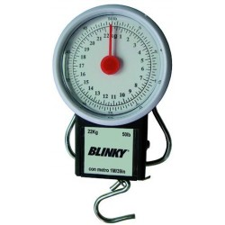 BLINKY SPRING SCALE WITH TAPE MEASURE MAX KG. 22