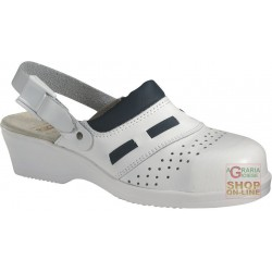 SOCKET WOMEN LEATHER STRAP COLOR WHITE TG 35 41
