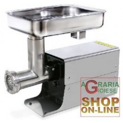 LEONARDI MEAT MINCER ELECTRIC WITH BOX, STAINLESS STEEL 12 HP