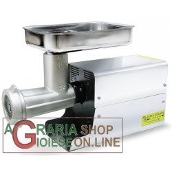 LEONARDI MEAT MINCER ELECTRIC WITH BOX, LACQUERED 22 HP 1 NIPLOY