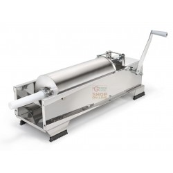 REBER VACUUM FILLER FOR SALAMI STAINLESS STEEL 2 SPEED 15 KG