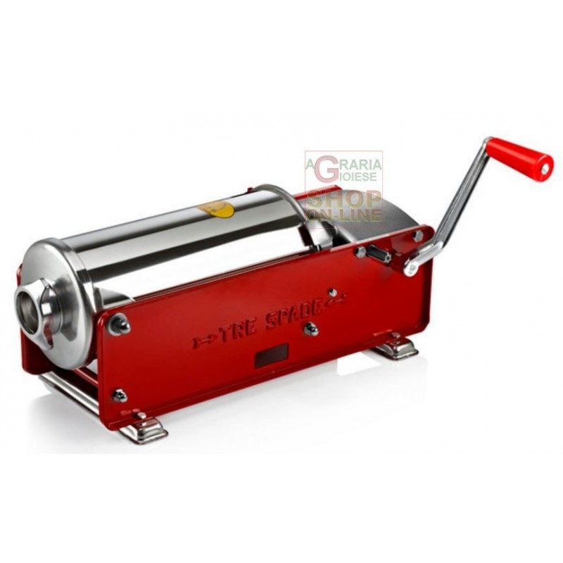 THREE SWORDS FILLER THE MANUAL MOD 5 FOR MEATS 2-SPEED, 5 KG
