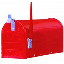 BLINKY MAILBOX AMERICA WITHOUT POLE BLACK 27292-20/4