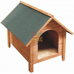 BLINKY WOODEN KENNEL MOD. BROOM SMALL SIZE 58X75X56H.