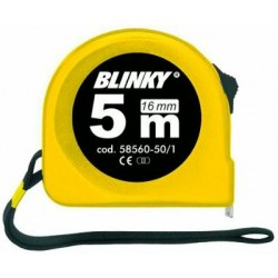 BLINKY FLESSOMETRO ABS CON BLOCK NASTRO MM. 13 MT. 3