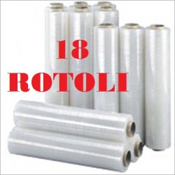 18 ROLLS STRETCH FILM FILM...