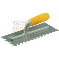 BLINKY TROWEL SERRATED BLADE 10X10 MM 280X120