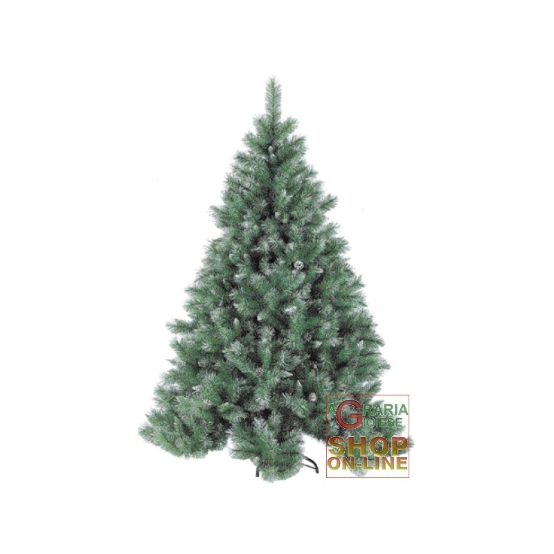 CHRISTMAS TREE COVERED WITH SNOW CM.210