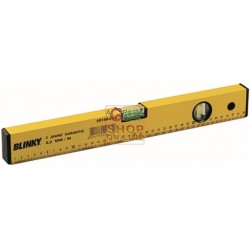 BLINKY SPIRIT LEVEL ALUMINIUM 2 BUBBLE YELLOW MM. 500