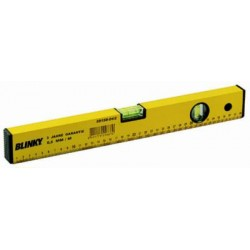 BLINKY SPIRIT LEVEL ALUMINIUM 2 BUBBLE YELLOW MM. 600 59158-06/6
