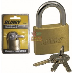 BLINKY LUCCHETTO IN OTTONE EXTRA PESANTE MM. 30