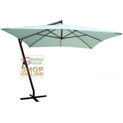 BLINKY BEACH UMBRELLA WITH BRACKET TOWEL PICTURE WHITE MT. 3X3