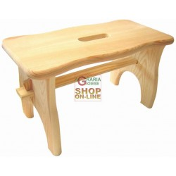 BLINKY BENCH STOOL WOOD MOD. LOTUS CM 40X20X22H