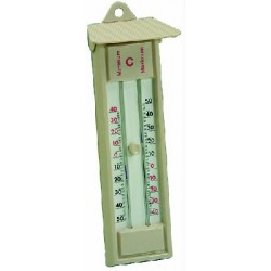 BLINKY THERMOMETER WALL BUTTON MIN/MAX EXTERNAL