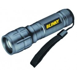BLINKY LED FLASHLIGHT EUROPE SMALL 1 LED 3 WATT 120 LUMENS 100