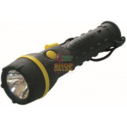BLINKY FLASHLIGHT, RUBBER COATED BULB KRYPTON RB 300