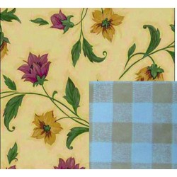BLINKY TOVAGLIA DOUBLE-FACE FIORI-LIBERTY MT. 1,4X30