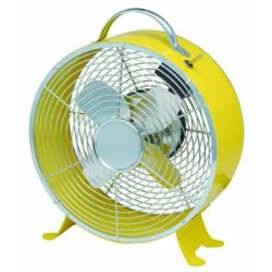 BLINKY FAN TABLE MOD. JUPITER YELLOW DIAM. CM. 20