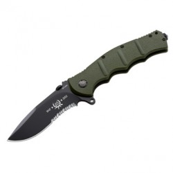 BOKER FOLDING KNIFE AK101 BLACK ANNIVERSARY BO 01AK651