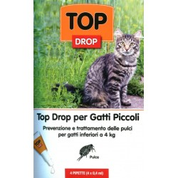 BOLFO TOP DROP PER GATTO 4 PIPPETTE INF. KG. 4