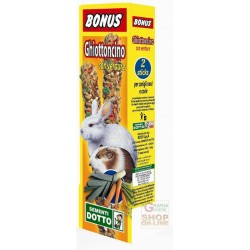 BONUS STICK GHIOTTONCINO FOR DWARF RABBITS AND GUINEA PIGS WITH