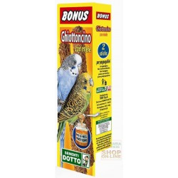 BONUS STICK GHIOTTONCINO FOR BUDGERIGARS WITH HONEY PIECES. 2