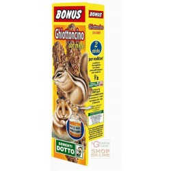 BONUS STICK GHIOTTONCINO FOR RODENTS WITH HONEY PIECES. 2
