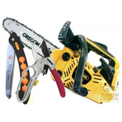 ALPINA CHAINSAW TO PRUNE A305sc KIT SHEAR SCISSOR SHIPPING