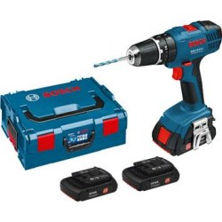 BOSCH DRILL DRIVER PERCUSSION GSB18 LITHIUM 1.3 AH