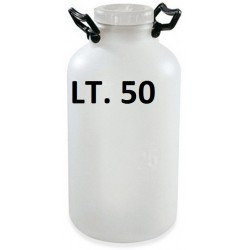 LESS DEMAND IN WHITE PLASTIC LT. 50 B. L. PLASTIM
