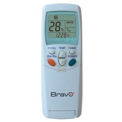 BRAVO UNIVERSAL REMOTE CONTROL FOR AIR CONDITIONERS